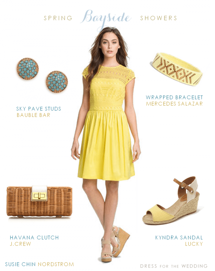 yellow dress for wedding