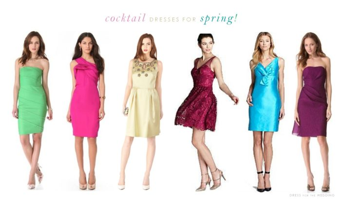 Cocktail Dresses For A Spring Wedding