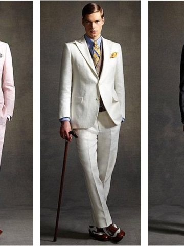 Gatsby Look for Grooms