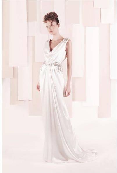 Goddess Wedding Dress by Gemy Maalouf