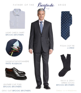 Gray Suit for Wedding