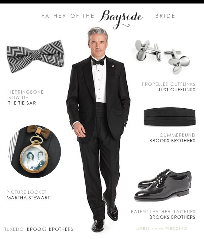 Classic tuxedo for a wedding