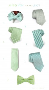 Mint Green Ties