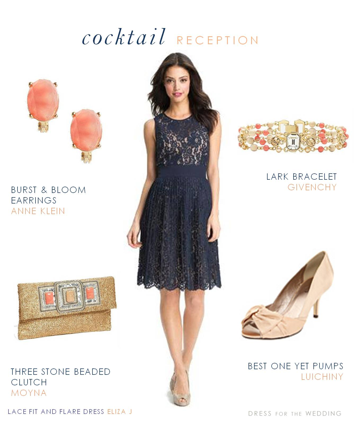 Navy lace dress for Navy dresses for weddings