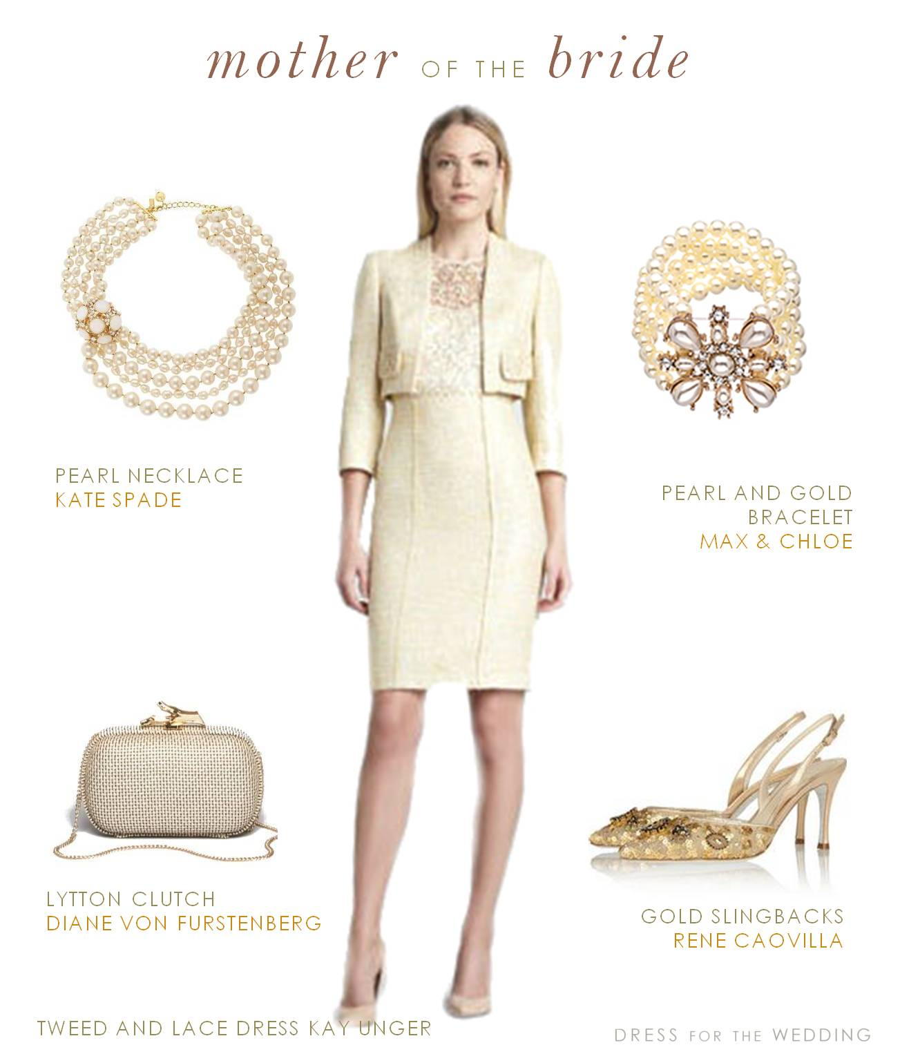 Pale Yellow Suit for the Mother of the Bride