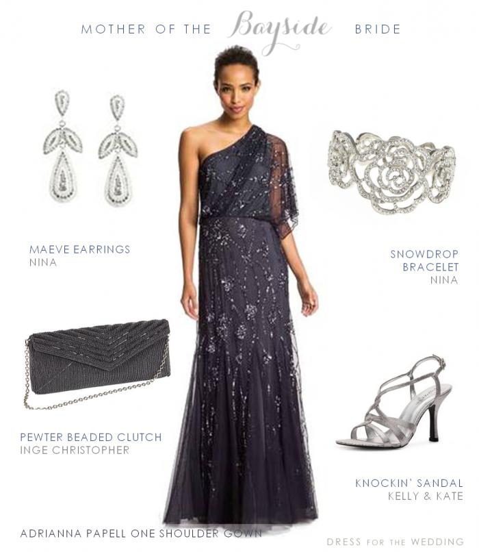 MOB Charcoal Dress