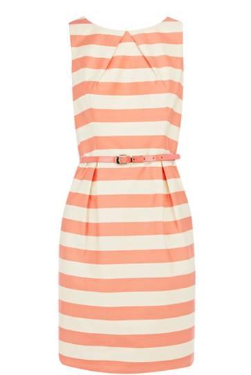 Pink Striped Dress Under $150