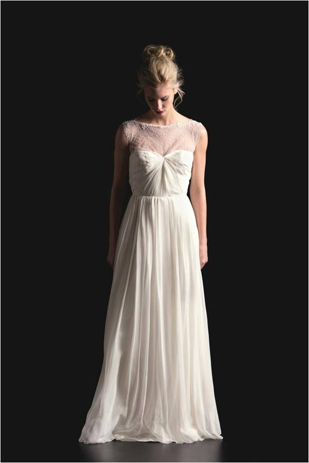 Sarah seven 2014 spring collection for Sarah seven used wedding dress