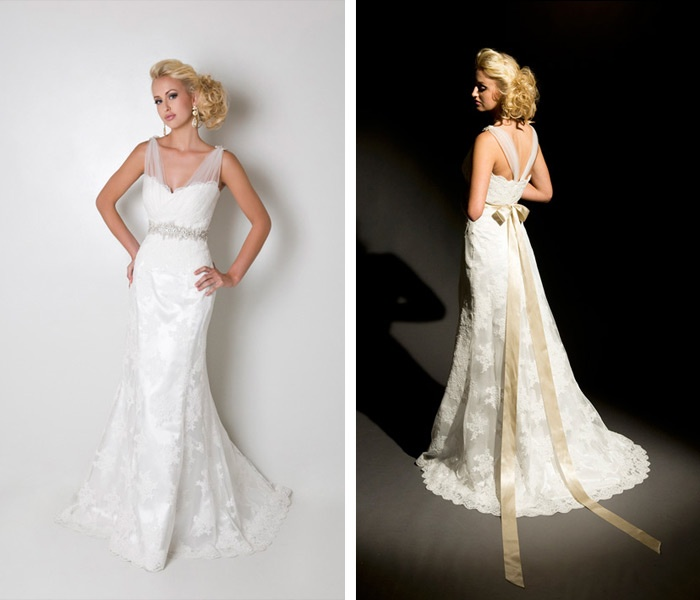 Bride eco couture by best naked ladies for Eco friendly wedding dresses
