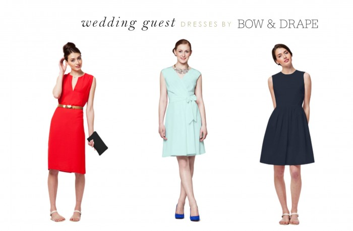 Wedding Guest Dresses by Bow and Drape