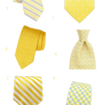 Yellow Ties for Groomsmen