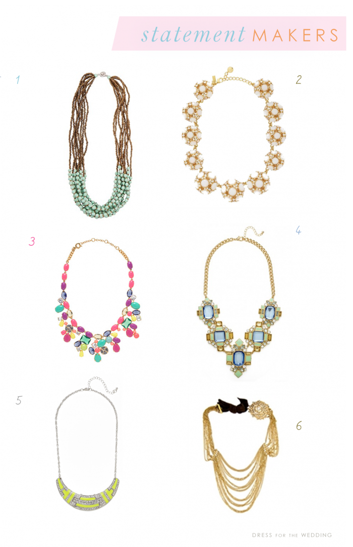 8 Statement Necklaces