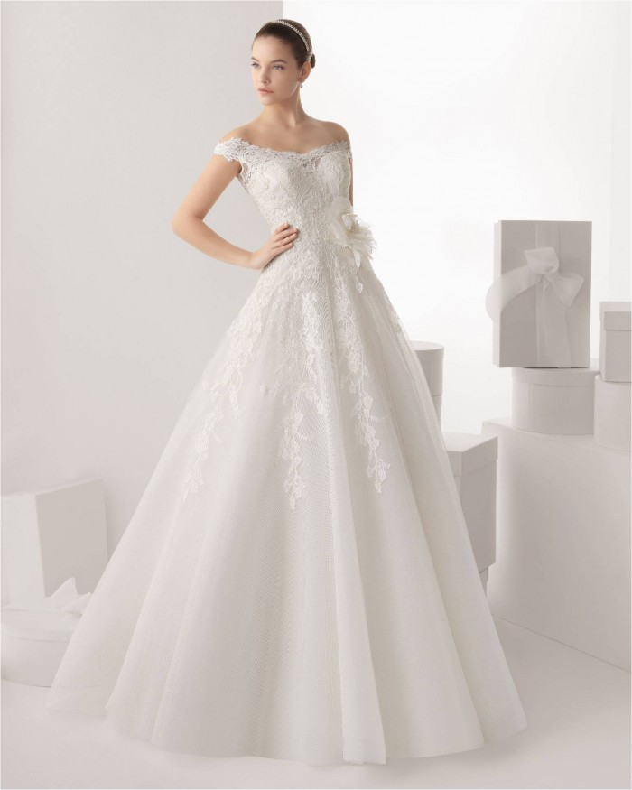 wedding dress preview rosa clar 2014