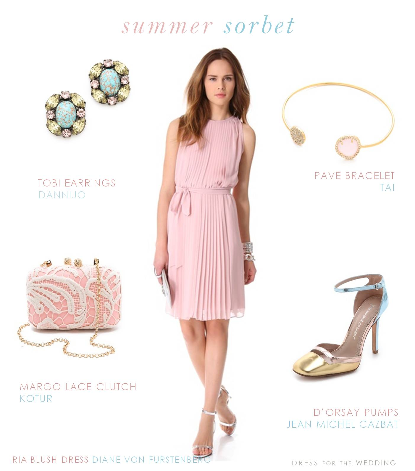 Cocktail dress for march wedding
