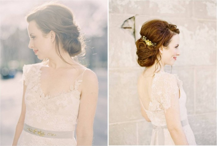 Hushed Commotion Dahlia Belt and Molly Hairpiece