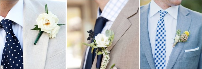 Navy Ties and Suits