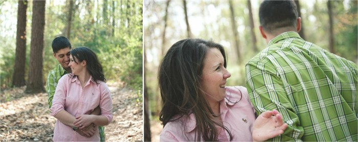 Wear complementary colors for your engagement session Photo by Bit of Ivory