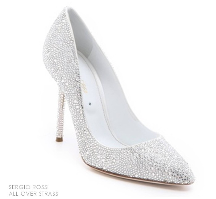 All over Strass Pump Sergio Rossi