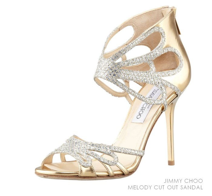 Jimmy Choo Melody Cutout Sandal