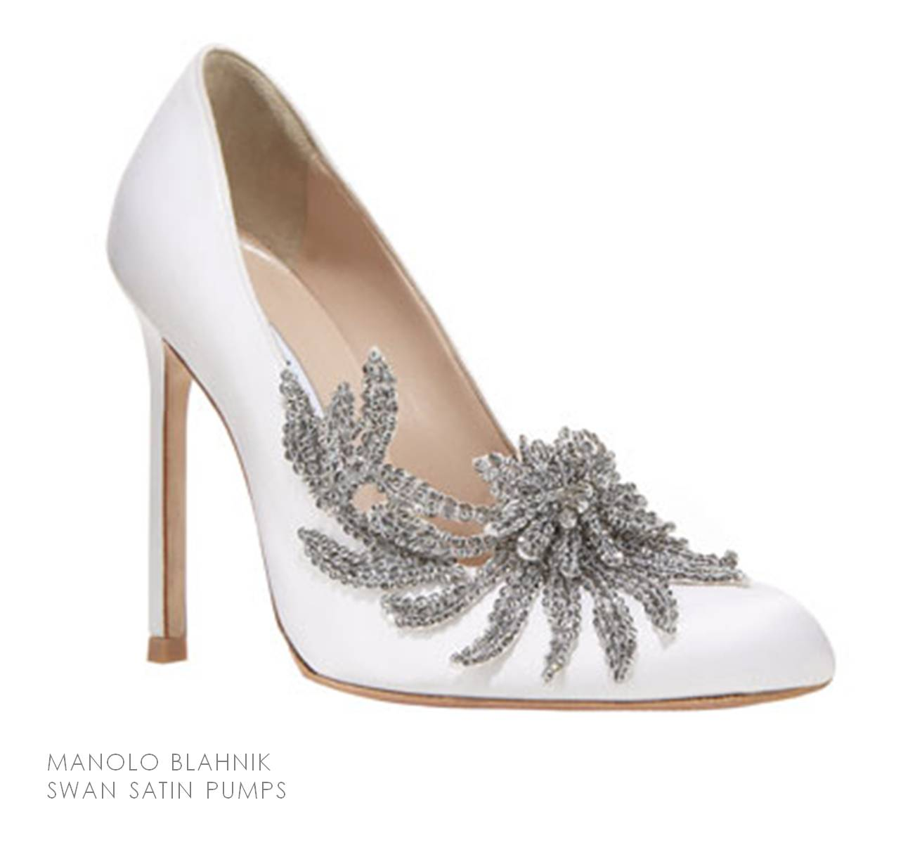 Manolo Blahnik Black And White Shoes