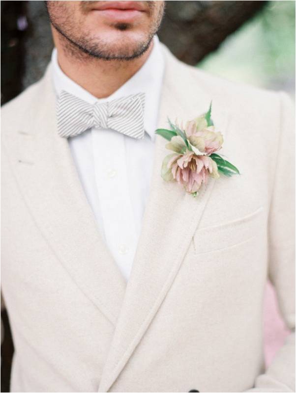 Neutral Colors for a Groom