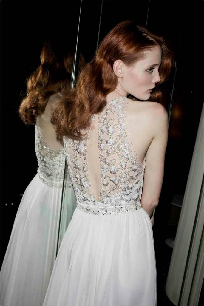 Alexa back Wedding Dress