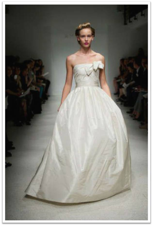 Amsale Blair Gown