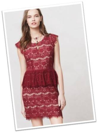 Anthropologie Elsa Dress