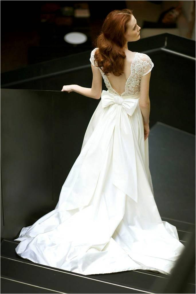 Chloe Back Wedding Dresses by Mira Zwillinger
