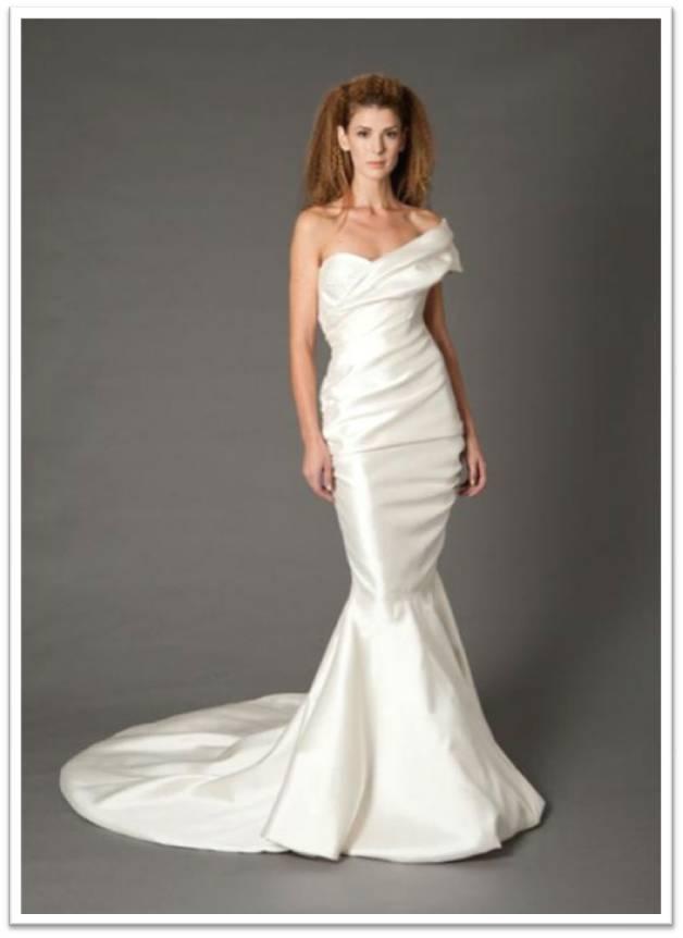 Douglas Hannant Mermaid Gown