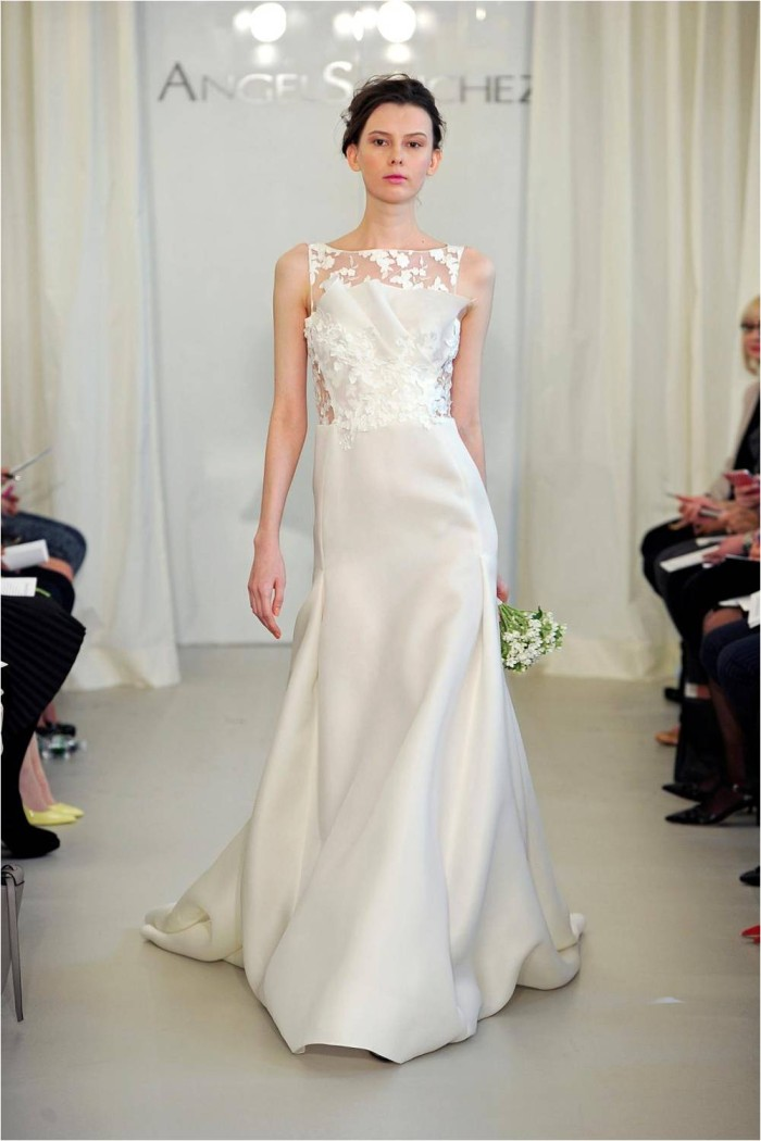 wedding dresses, Angel Sanchez