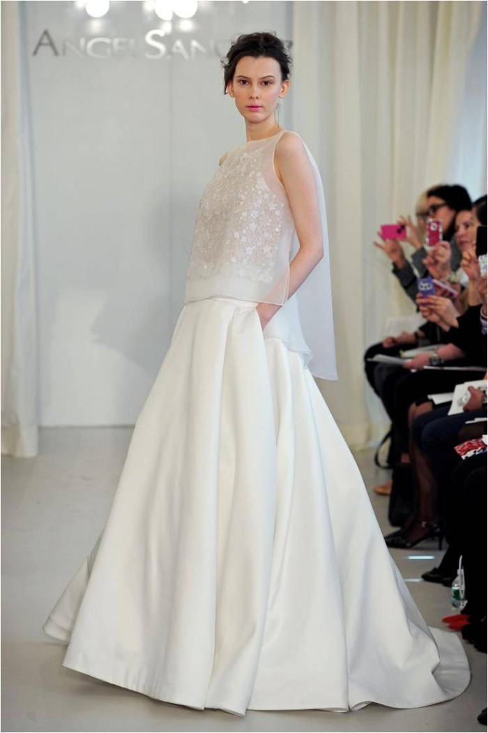 Angel Sanchez Wedding Dresses