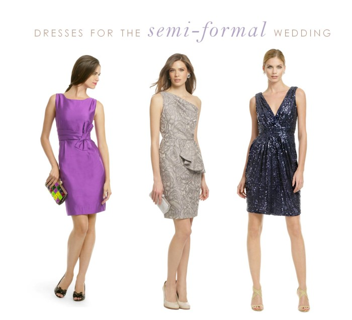 dresses for semi formal wedding