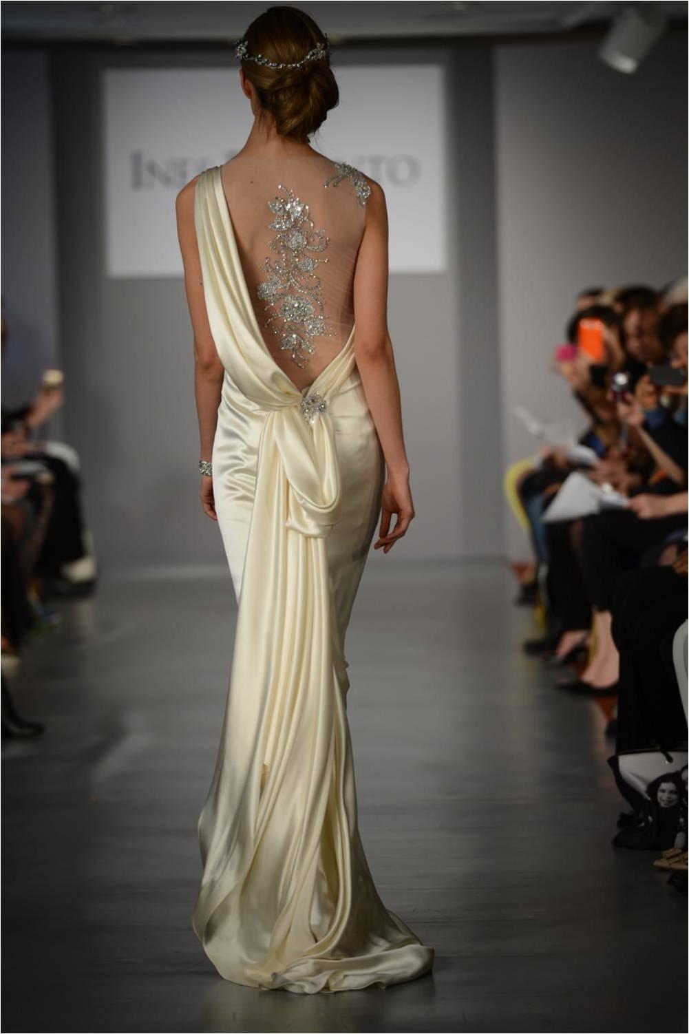 Beautiful Back Ines DiSantoSpring 2014WeddingDresses