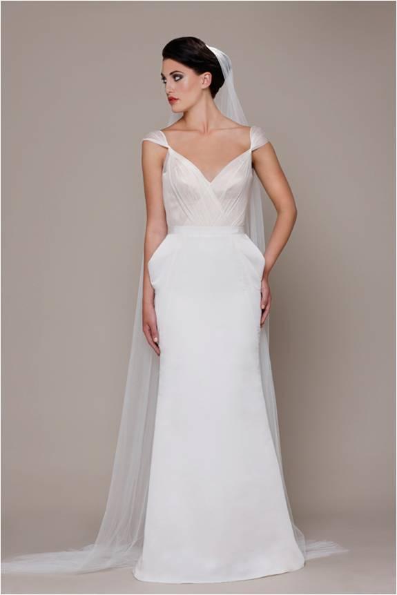 Wedding Gown with Veil Elizabeth Stuart