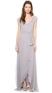 Silver or Gray Bridesmaid Dresses