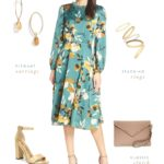 Outfits and dresses to wear to an outdoor wedding in the fall