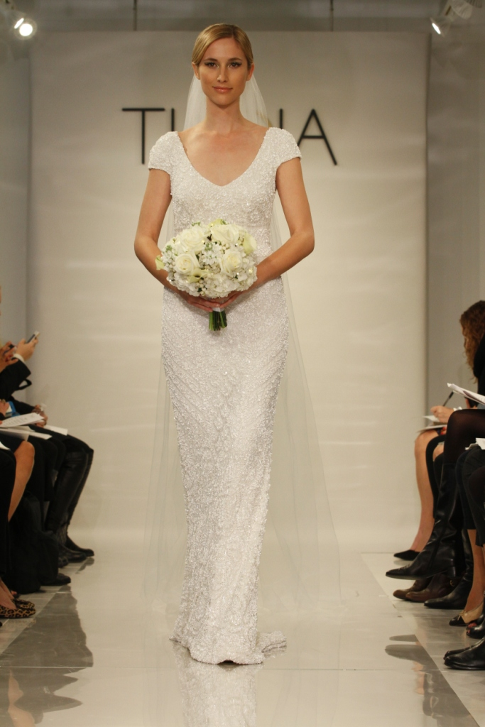 Lilia by Theia Beaded Wedding Dress 2014 Collection