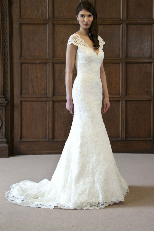 Augusta Jones Lace Wedding Dress Anita