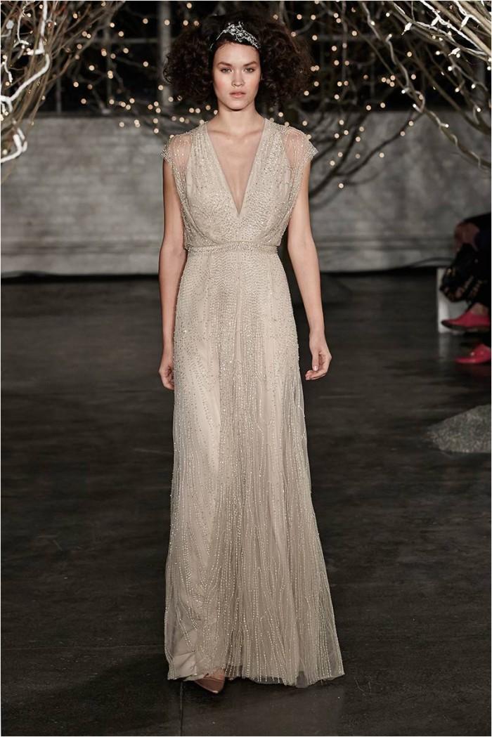 Beaded Gown Jenny Packham 2014