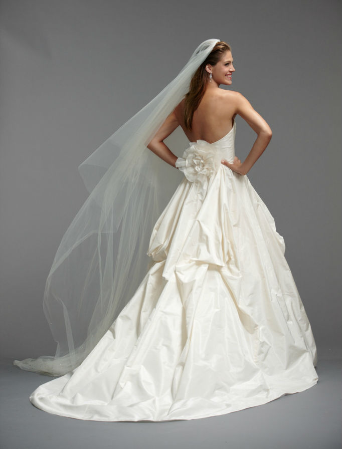 Cara by Watters Brides back