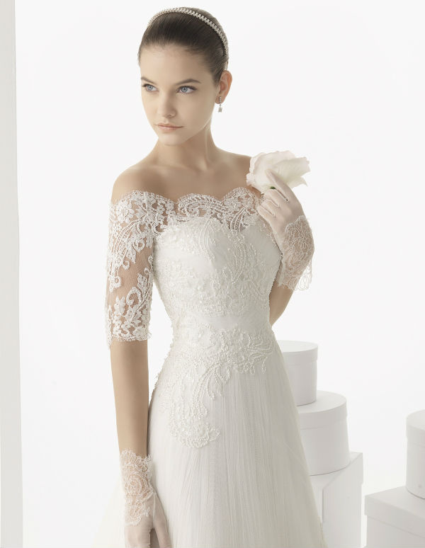 Carlota Lace Wedding Gown by Rosa Clara