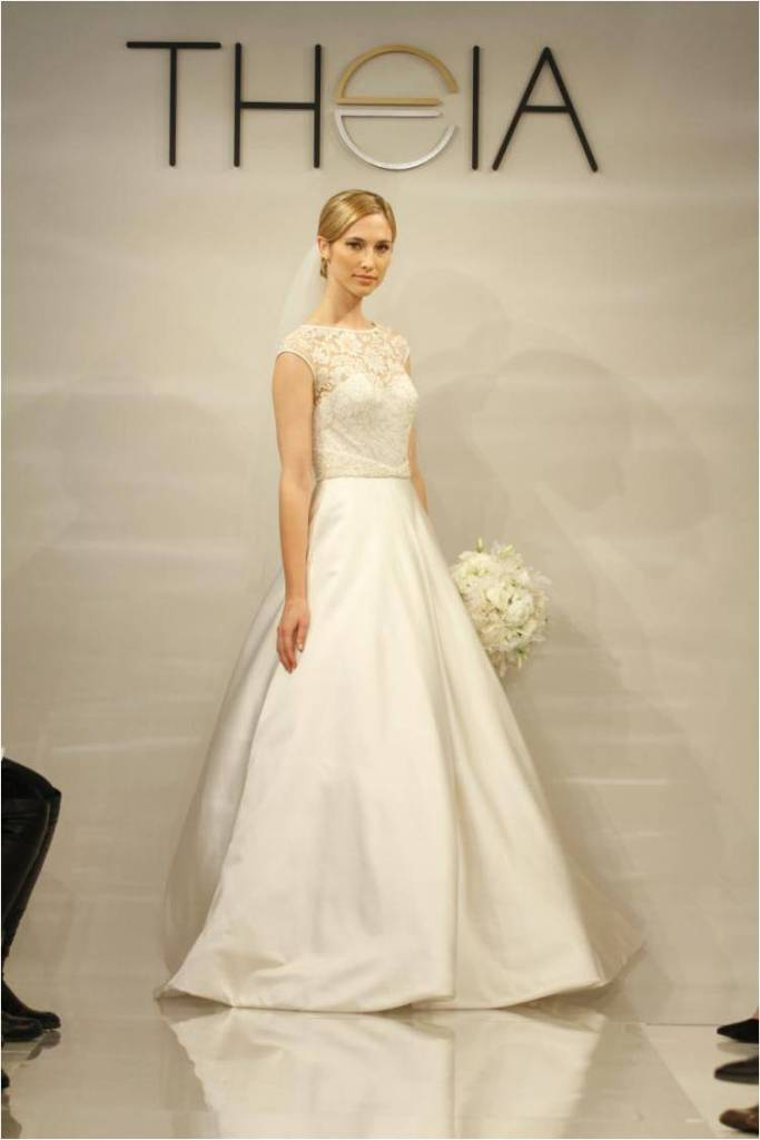 Theia Wedding Dresses Fall 2014 White Collection