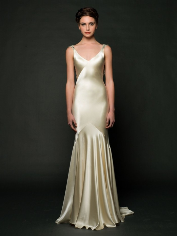 Sarah janks wedding dresses fall 2014 for Sarah seven used wedding dress