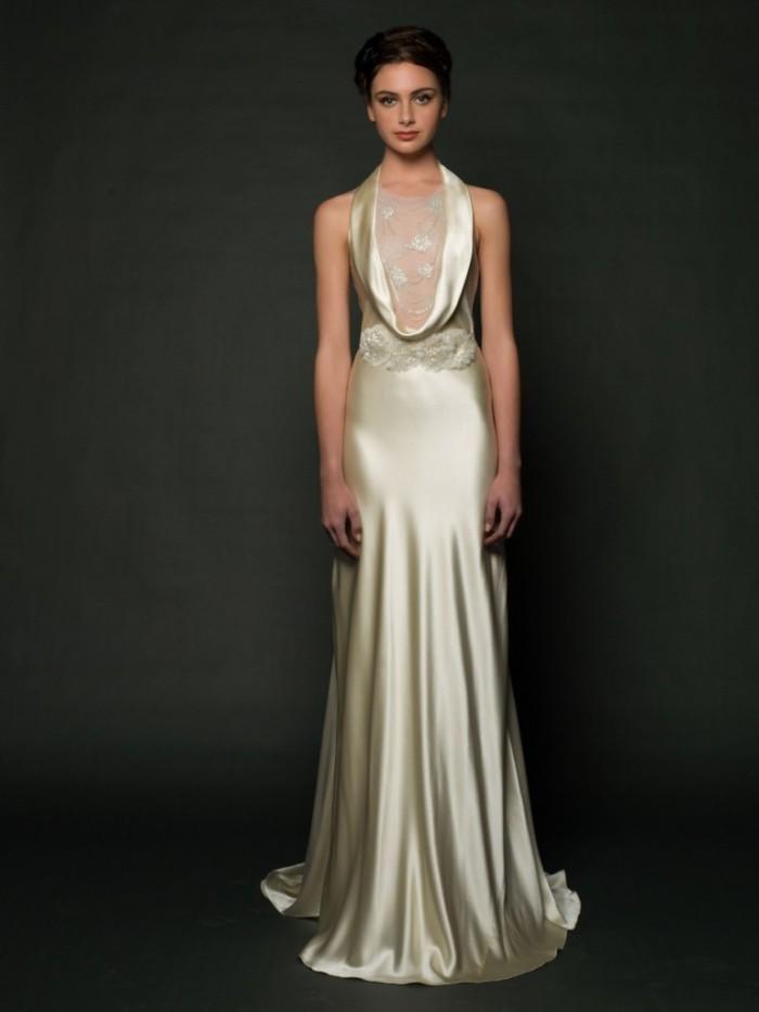 Dominique Wedding Dress and Belt