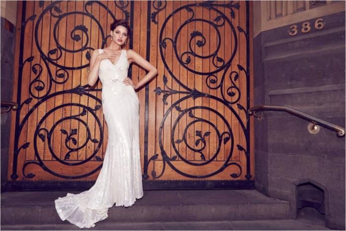 Elvina Karen Willis Holmes Wedding Gown