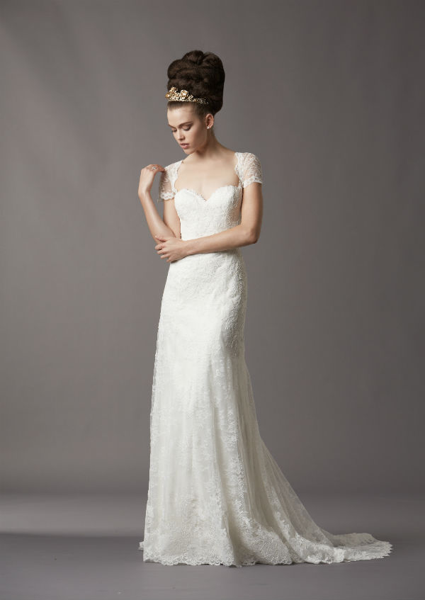 Erin by Watters Lace Wedding Dress