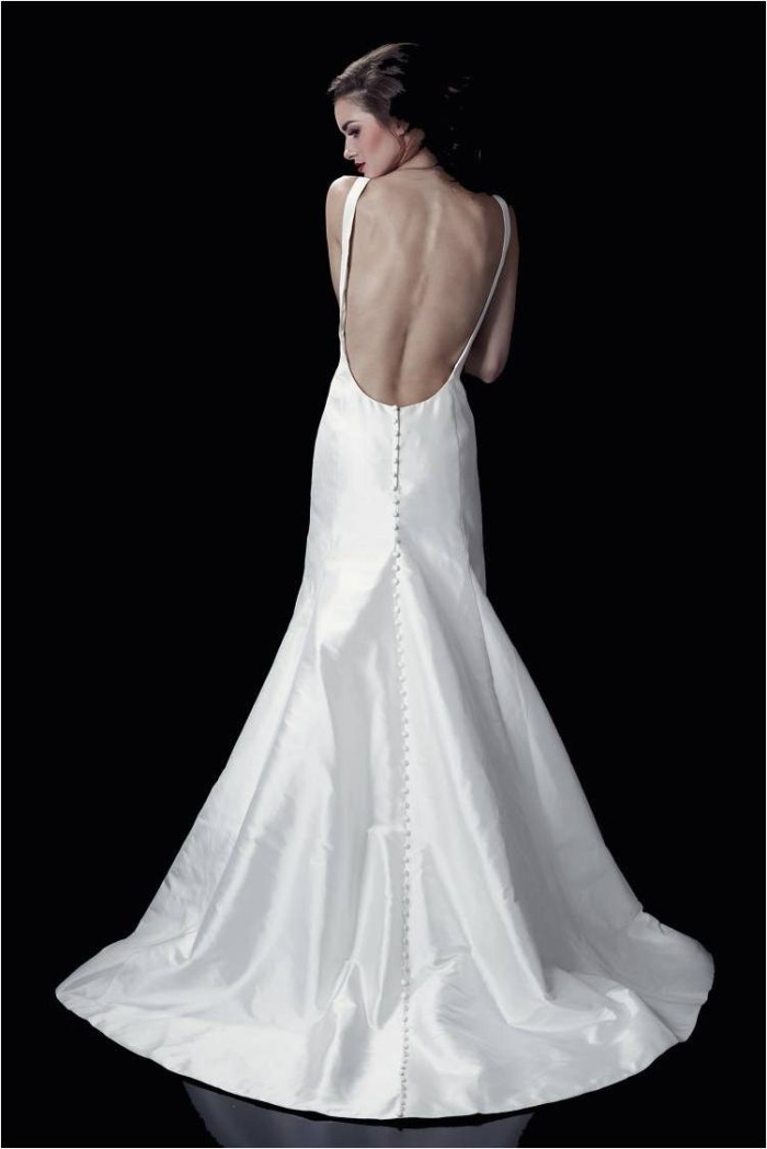 Heidi Elnora 2014 Wedding Dress Elle Hemingway Back