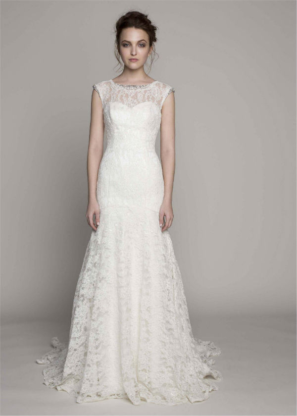 Isabelle by Kelly Faetanini Lace Wedding Dress