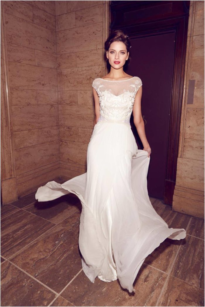 Jamie Wedding Dress  by Karen Willis Holmes